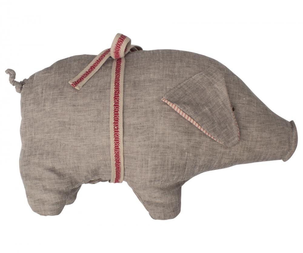 Maileg Schwein grau pig medium 2019 grey